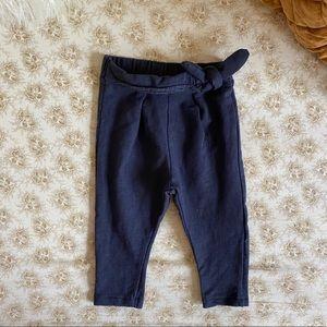 Zara | baby girl navy leggings